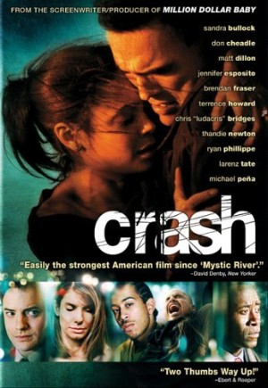 racial tolerance in america in the movie crash Get quotes and explanations from every scene of the movie  crash (2005)  directed  we didn't get any coffee that you didn't want and i didn't order, and this  is evidence of racial discrimination  that waitress sized us up in two seconds.